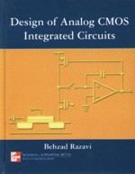 DESIGN OF ANALOG CMOS INTEGRATED CIRCUITS 2001 (HARDCOVER) - 0071188398