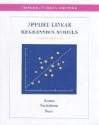 APPLIED LINEAR REGRESSION MODELS 4/E 2004 (SOFTCOVER) - 0071274804