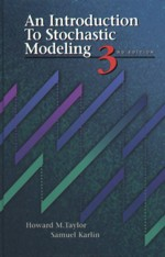 AN INTRODUCTION TO STOCHASTIC MODELING 3/E 1998 - 0126848874