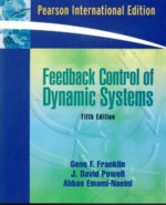 FEEDBACK CONTROL OF DYNAMIC SYSTEMS 5/E 2006 - 0132016125