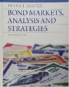 BOND MARKETS ANALYSIS & STRATEGIES 8/E 2012 - 013274354X