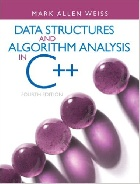 DATA STRUCTURES & ALGORITHM ANALYSIS IN C++ 4/E 2013 - 013284737X
