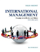 INTERNATIONAL MANAGEMENT: MANAGING ACROSS BORDERS & CULTURES TEXT & CASES 8/E 2013 - 0133062120