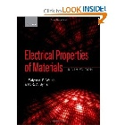 ELECTRICAL PROPERTIES OF MATERIALS 9/E 2014 - 0198702787