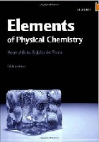 ELEMENTS OF PHYSICAL CHEMISTRY 5/E 2010 - 0199226725
