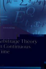 ARBITRAGE THEORY IN CONTINUOUS TIME 2/E 2004 - 0199271267