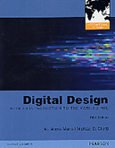 DIGITAL DESIGN: WITH AN INTRODUCTION TO THE VERILOG HDL 5/E 2012 - 0273764527
