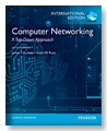 COMPUTER NETWORKING: A TOP-DOWN APPROACH 6/E 2012 - 0273768964