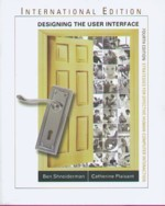 DESIGNING THE USER INTERFACE: STRATEGIES FOR EFFECTIVE HUMAN-COMPUTER INTERACTION 4/E 2005 - 0321269780