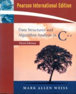 DATA STRUCTURES & ALGORITHM ANALYSIS IN C++ 3/E 2006 - 0321397339