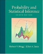 PROBABILITY & STATISTICAL INFERENCE 8/E 2009 - 0321584759