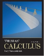 THOMAS' CALCULUS: EARLY TRANSCENDENTALS 13/E 2016 - 0321884078