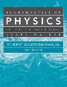 STUDENT SOLUTIONS MANUAL FOR FUNDAMENTALS OF PHYSICS 9/E 2010 - 047055181X