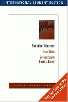 STATISTICAL INFERENCE 2/E 2002 (SOFTCOVER) - 0495391875