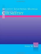 STUDENT SOLUTIONS MANUAL FOR PHYSICAL CHEMISTRY 2002 - 053439714X