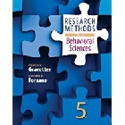 RESEARCH METHODS FOR THE BEHAVIORAL SCIENCES 5/E 2016 - 1305104137