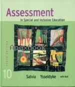 ASSESSMENT IN SPECIAL & INCLUSIVE EDUCATION 10/E 2007 - 061869269X - 9780618692699