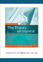 THE THEORY OF INTEREST 3/E 2009 - 0071276270 - 9780071276276