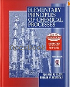 ELEMENTARY PRINCIPLES OF CHEMICAL PROCESSES 3/E 2000 - 047137587X - 9780471375876