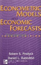 ECONOMETRIC MODELS & ECONOMIC FORECASTS 4/E 1998 - 0071158367 - 9780071158367