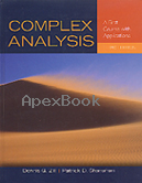 COMPLEX ANALYSIS: A FIRST COURSE WITH APPLICATIONS 3/E 2015 - 1449694616 - 9781449694616