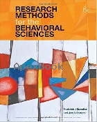 RESEARCH METHODS FOR THE BEHAVIORAL SCIENCES 6/E 2018 - 1337613312 - 9781337613316