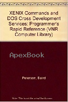 XENIX COMMANDS & DOS CROSS DEVELOPMENT SERVICES 1992 - 0442005407 - 9780442005405