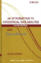 AN INTRODUCTION TO CATEGORICAL DATA ANALYSIS 2/E 2008 - 0471226181 - 9780471226185