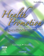 HEALTH PROMOTION THROUGHOUT THE LIFE SPAN 6/E 2006 - 0323031285 - 9780323031288