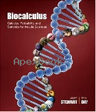 BIOCALCULUS: CALCULUS, PROBABILITY, AND STATISTICS FOR THE LIFE SCIENCES 2015 - 1305114035 - 9781305114036