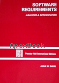 SOFTWARE REQUIREMENTS ANALYSIS & SPECIFICATION 1990 - 0138248141 - 9780138248147