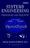 SYSTEMS ENGINEERING: PRINCIPLES & PRACTICE 2003 - 0471234435 - 9780471234432