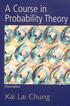 A COURSE IN PROBABILITY THEORY 3/E 2001 0121741516 9780121741518